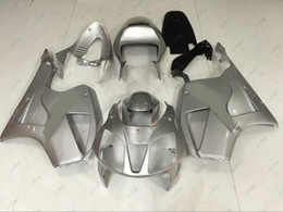 Wholesale Honda Rc51 Body Kits - Body Kits RC51 SP1 SP2 06 05 Full Body Kits VTR1000F SP1 03 04 Silvery Plastic Fairings for Honda VTR1000 RR 01 02 2000 - 2006