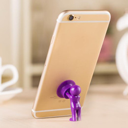 Wholesale Stand Man Iphone - Multifaction 3D Man Hercules Phone Holder Villain Stand Supporter For IPhone For Samsung ANd All Smart phone Plunger Sucker