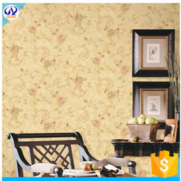 Wholesale Country Clothes Wholesale - Wholesale-European style deep pressure classic garden wallpaper bedroom living room office clothing store decoration HHY wallpaper roll