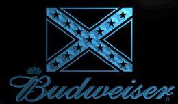 Wholesale Flag Lights Led - LS1931-b-rebel-confederate-flag-Budweisers-Bar-Neon-LED-Light-Sign.jpg