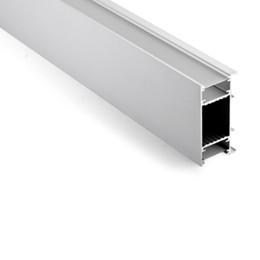 Wholesale Profile Bars - 10 X 1M sets lot U type aluminum profile for led light bar and aluminium led lighting profile for wall lights