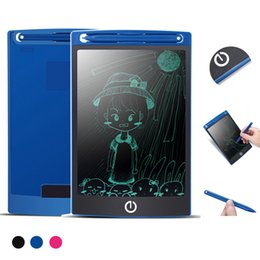 tablet notepad Promo Codes - 8.5 inch LCD Drawing Board Writing Tablet Blackboard Handwriting Pads Gift for Kids Paperless Notepad Whiteboard Memo High Light Version