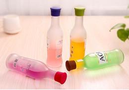 3.5 * 2.8 * 3.1CM Silicone tappo del vino Candy-color food-grade in silicone fresco tappo di bottiglia di vino tappo tappo di sughero da palle di sughero all'ingrosso fornitori