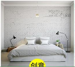 2019 antike weiße wände 3D fototapete benutzerdefinierte wandmalereien tapete wandbild Kreative Weiße Antike Brick Wall Mural Hintergrund tapeten wohnzimmer dekoration günstig antike weiße wände