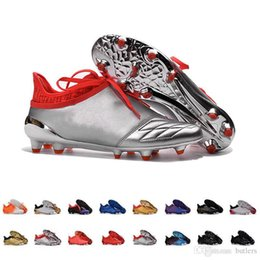 Wholesale X Men 16 - 2017 Cheap Wholesale X 16+ Purechaos FG AG Football Shoes Men Soccer Cleats Online Discount Top Quality Soccer Shoes Men's Soccer Boots 7-11
