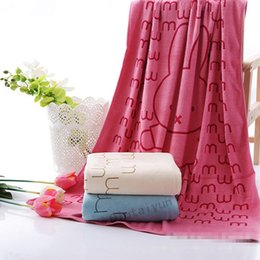 Wholesale Wholesalers For Baby Baths - 70*140cm Bath Towels Cotton Towel for Adults&Children Babies bath towels beach towels Hair Drying Washcloth LA224