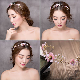 special hair accessories Coupons - Woman headdress hair [value] Solomon sweet pink headband special offer bride wedding style headdress accessories 1530013 soft chain