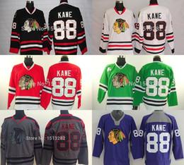 Wholesale Cheap Stitched Jerseys China - Chicago Blackhawk Jerseys Kane Cheap Patrick Kane Jersey Men's Hockey Jerseys Authentic Chicago Blackhawks Stitched Jersey China