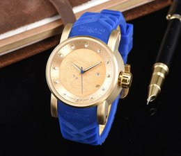 Wholesale Military Watches Strap - 2017 latest version of the silicone strap sports military men or wome wath center clock calendar reloje man watches the freedom of man's