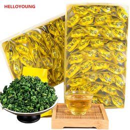 Cravatte cinesi online-C-WL028 Top grade cinese Oolong 250g TiKuanYin Tè Verde Anxi Tie Guan Yin Fresh Cina Tieguanyin tè Spedizione gratuita