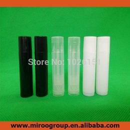 Wholesale Lipstick Tube Empty - NEW 2015 50PCS Empty Plastic Clear Lip Balm Tubes Containers Transparent Lipstick Fashion Cool Lip Tubes Free Shipping(3 colors)