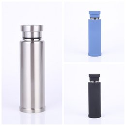 Wholesale Coffee Mug Sleeve - Stainless Steel Insulated Cup Creative Outdoor Sports Water Bottle Portable Coffee Mug Multi Color High Quality 28sw C R
