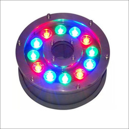Wholesale Outdoor Underground Lighting - Landscape LED lights Outdoor lights RGB fountain using LED underwater light stainless housing underground lamp IP68