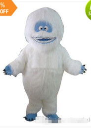 Wholesale Real Snowman - Fancytader Free Shipping! Real Pictures! Deluxe Abominable Snowman Mascot Costume EMS free shipping.
