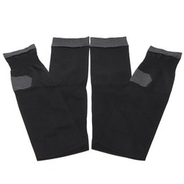 Wholesale Sleeping Leg Sock - Wholesale- 480D Stockings Legs Professional Compression Anti Varicose Fat Burning Stovepipe Women Sleeping Health Black