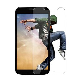 Wholesale Hd Mirror Screen Protector - 2.5d HD For Motorola MOTO XT1032 G2 E X play X Style X2 XT1056 E2 E-LTE XT907 G3 Tempered Glass Screen protector protective film front 500pc