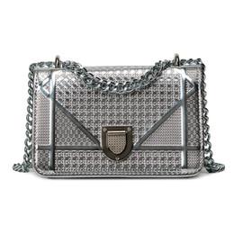 Wholesale Good Quality Handbag Brands - 2017 New ladies handbags women shoulder bags Laser chain bag handbags brand names good quality bags wholesale