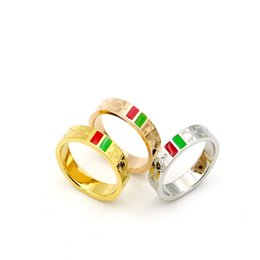Wholesale New Products China - The new high quality products wholesale and fine fashion ring with the new south Korean cross grain G titanium steel rose gold ring