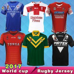 Wholesale Free England Shirt - Free Ship 2017 TONGA World Cup fita rugby Jerseys New Zealand 2018 Australia Jerseys kiwis rugby NRL England RUGBY uniform 1718 samoa Shirts
