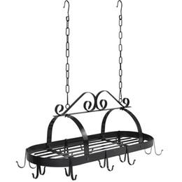 Canada Étagère de cuisine en fer forgé étagère de rangement de cuisine cheap iron storage racks Offre