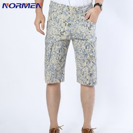 Wholesale Cotton Trousers Shorts For Men - Wholesale-New Brand Mens Casual Middle Waisted Pants Mens Summer Slim Fashion Pants Straight Simple Business Cotton short Trousers For Men