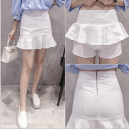 Dropshipping Ladies White Denim Skirt UK | Free UK Delivery on ...