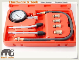 Wholesale Flexible Socket - 8pc Petrol Engine Compression Test Kit 63mm Gauge 16in Flexible Extension Adapter