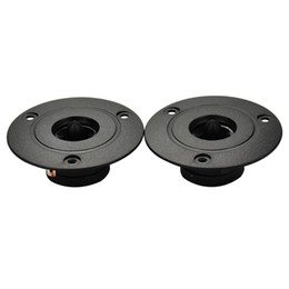 Wholesale Bullet Sound - Freeshipping 2pcs Tweeter Speaker 8 ohm Tweeters Car Audio Super Horn HIFI Home Theater Sound System Dual Magnetic Bullet Speakers 10-20W