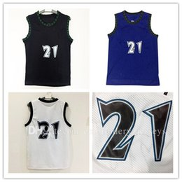 Wholesale Fast Cheap - Men's Cheap #21 Kevin Garnett Basketball Jersey Wholesale Adult Embroidery Logos and 100% Stitched Fast free shipping