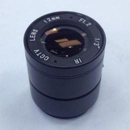 Camara de 4mm online-Cámara CCTV de seguridad HD 3MP CS Lente 4mm 6mm 8mm 12mm 16mm Fix Focus Lente grande Uso para CCTV Analógico AHD IP y otra Cámara de todo tipo