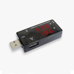 Wholesale Lcd Led Tester - KWS-A16 USB Multifuntion Tester Dual USB Arus Tegangan Charger baterai Detektor Tester Voltmeter Ammeter Current Voltage LED USB Detector