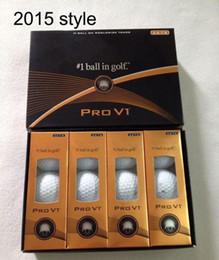 Argentina Clubes de bolas de golf de primera calidad nuevas bolas PRO de 12pcs / box Club de bolas de tres piezas V1 Golf PRO V1 cheap tops pro Suministro