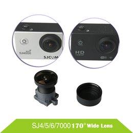 Wholesale wifi fit - Wholesale- Original SJCAM SJ4000 Lens 170 Degree Wide Angle Camera Len Fit SJCAM SJ4000 WIFI SJ5000 SJ6000 SJ7000 SJ8000 SJ9000 Accessories