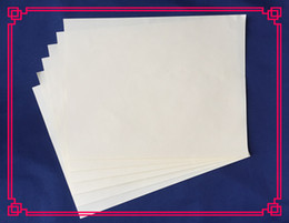 Wholesale White Greeting Cards - 1 sheet pass counterfeit pen test no srarch no acid security printinng paper waterproof with red and blue fber white color