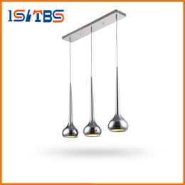 Wholesale Decorative Pipe - Modern Led Pendant Lamps Living Room Acrylic Stainless Restaurant Bedroom Decorative Pendant Lights Lamparas Home Light