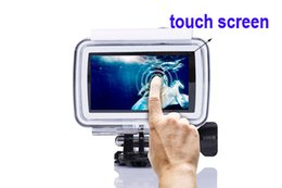 """Wholesale Red Video Format - Waterproof Touch Screen B1 Full HD 3840*2160 4K 2.45"""" LCD Sport Action Video Camera ActionCam Wide Angle 170° MP4 H.264 Format"""