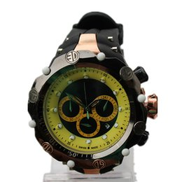 Wholesale Cheap Big Dial Watches - Cheap Men's Quartz watches luxury Top brand Outdoor For Man Sports Big Dial Watch 3 Eyes Working Wristwatch With date 2017 Free Shipping