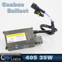 Wholesale Xenon Ballasts - Car 35W Slim Xenon AC Quick Start 1S Ballasts Canbus Replacement Canceller 9-16V Car Hid Ballast