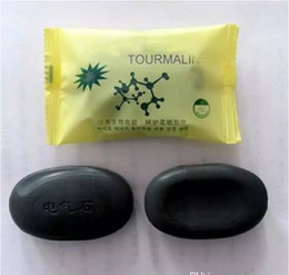 Wholesale Wholesale Body Soap - Hot High Quality Tourmaline Soap Personal Care Handmade Soap Face & Body Beauty Healthy Care With Free Shipping
