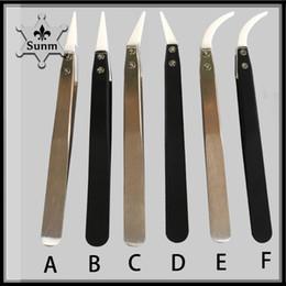 Canada Les brucelles en céramique de cigarettes électroniques ont 6 outils de reconstruction de la bobine résistant à la chaleur de style A, B, C, D, E et F deux couleurs vape 0266156 Offre
