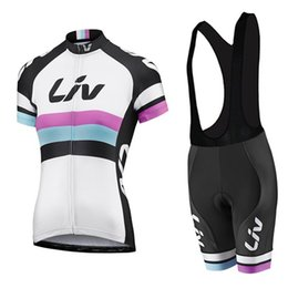 Wholesale Liv Clothes - VACOVE 2017 Brand New Pro Team LIV Cycling Clothing Quick-Dry Cycle Clothes Mountain Bicycle Wear Ropa Ciclismo Bike Cycling Jerseys Set