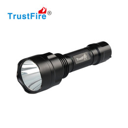 Wholesale Dive Flashlight Rechargeable Battery - Linternas LED Flashlight 18650 Rechargeable Battery Cylindrical LED Lights Tactical Military Flash Light Waterproof Aluminum Torch Hunting