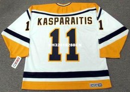 Wholesale Custom Hockey Jerseys Cheap - Cheap custom retro DARIUS KASPARAITIS Pittsburgh Penguins 1998 CCM Jerseys Throwback Home Jerseys Throwback Mens stitched Hockey Jersey