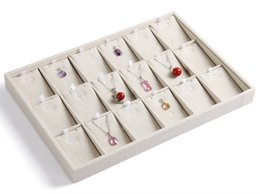 Wholesale Display Tray Necklace - Necklace tray jewelry display shelf pendant organizer packaging jewelry holder stand for jewelry rack wholesale price HOT