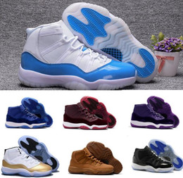 Wholesale News Retro Basketball Shoes Men Women Retros Space Jam s XI Bred Navy Velvet Heiress Homme Original Replicas Sport Sneaker
