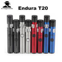 Wholesale E Cigarette Innokin - 100% Original Innokin Endura T20 Vaping Kit 2ml Atomizer Capacity 1000mAh 1500mAh Battery E Cigarette Starter Kit