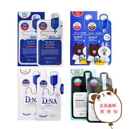 Wholesale Whitening Hyaluronic Essence - Skin Care NMF Women Face Masks Moisturizing Oil Control Natural Essence Collagen Whitening Mask