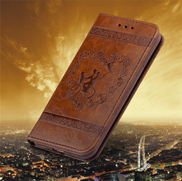 Wholesale Bicycle Cards Case - lovers bicycle Rose Garden wallet flip leather embossing holder case For iPhone X 10 8 7 6 6S Plus 5 SE 5S 7Plus with card slots slot Pocket