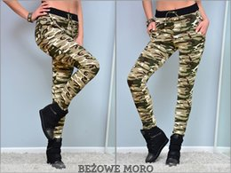 Wholesale Camouflage Stretch Pants - TINDERALA Camouflage Sexy Lady Women stretch Fashion leggings Jeggings Slim New Pants Fitness legging leggins