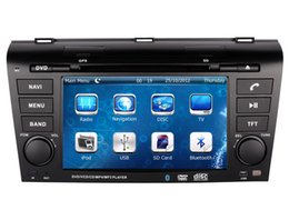 "Wholesale Map Mazda - 7"" Car DVD Player for Mazda 3 Mazda3 2004-2009 with GPS Navigation Radio BT TV USB SD AUX Map Audio Video Stereo Navigator"